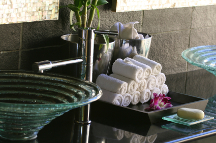 Decorating your bathroom with spa themed accessories